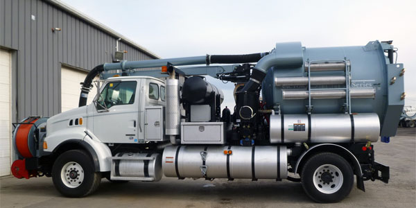 2007 Vactor 2110 combination sewer jetter & vacuum unit