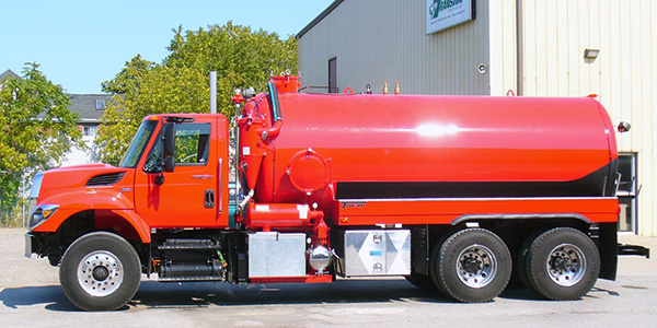 New 3600 USG Septic unit