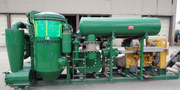 Baghouse Skid Vacuum unit
